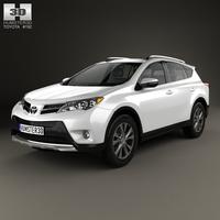 Toyota RAV4 (XA40) EU-spec 2013 3D Model