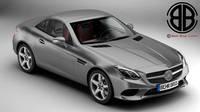 Mercedes SLC 2017 3D Model