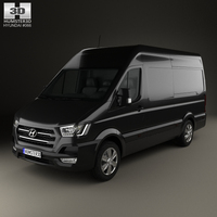 Hyundai H350 Panel Van 2015 3D Model
