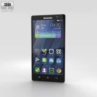 Lenovo P90 Pearl White Phone 3D Model