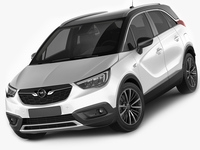 Opel Vauxhall Crossland X 3D Model