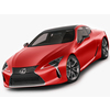 Lexus LC500 2018 3D Model