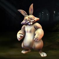 Rabbit fantasy character 3D Model