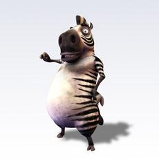 zebrz fantasy characters 3D Model