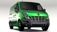 Renault Mater L1H1 Van 2010 3D Model