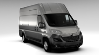 Citroen Relay Van L4H3 2017 3D Model