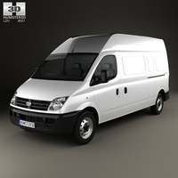 LDV Maxus Panel Van 2004 3D Model