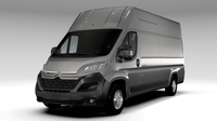 Citroen Jumper Van L4H3 2017 3D Model