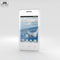 Huawei Ascend Y220 White 3D Model