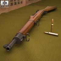 Springfield M1903 Rifle 3D Model