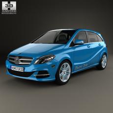 Mercedes-Benz B-Class (W242) Electric Drive 2014 3D Model