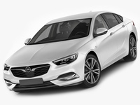 Opel - Vauxhall Insignia Grand Sport - Holden Commodore 2018 3D Model