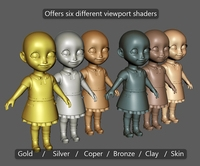Free GJ Maya Viewport Shader Pack for Maya 1.0.0