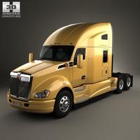 Kenworth T680 Tractor Truck 3-axle 2012 3D Model