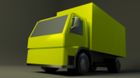 Volwo FM9 truck 3D Model