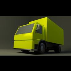 Volwo FM9 truck 3D Model