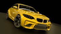 BMW M2 Coupe 3D Model