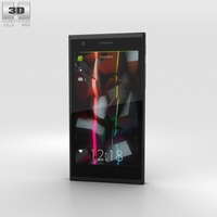 Jolla Keira Black Phone 3D Model