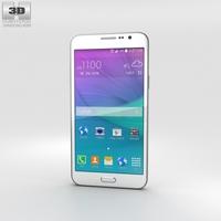 Samsung Galaxy Grand Max White Phone 3D Model