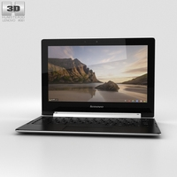 Lenovo N20p Chromebook Laptop 3D Model