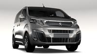 Peugeot Traveller L1 2017 3D Model