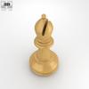 05 00 18 357 classic chess bishop white 600 0002 4