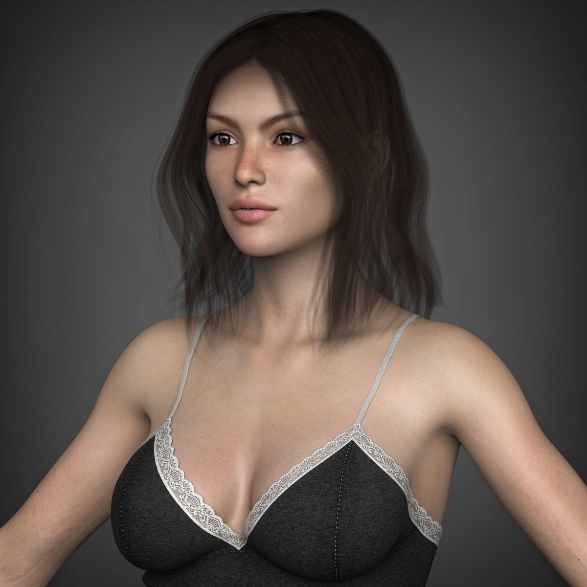 highend 3d - 3d models > characters > people > woman compatible with