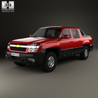 Chevrolet Avalanche 2002 3D Model
