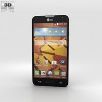 LG Realm Black 3D Model