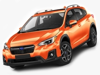 Subaru XV Crosstrek 2018 3D Model