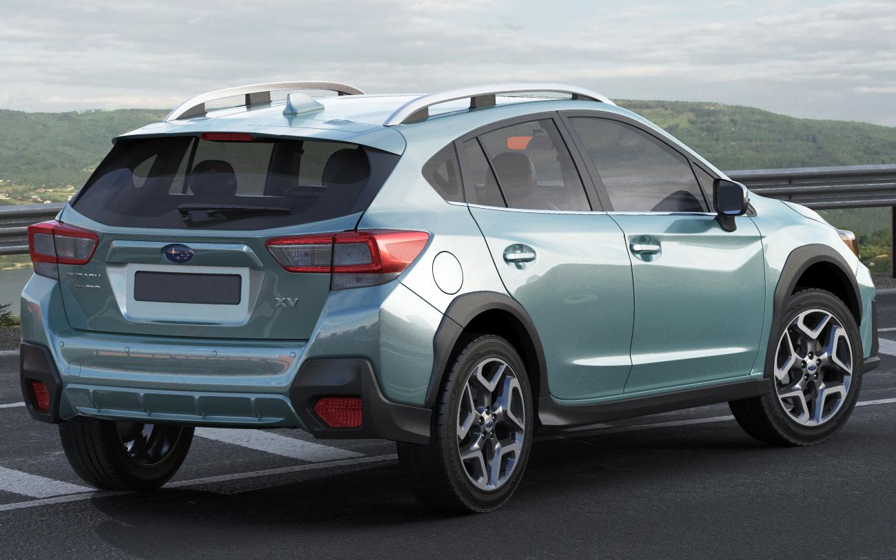 Subaru Xv Crosstrek 2018 3d Model