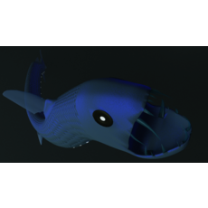 Vicious viperfish 3D Model