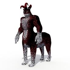 Fantasy Character  Agamevu 3D Model
