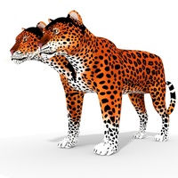 Fantasy Character Agu Nabo 3D Model