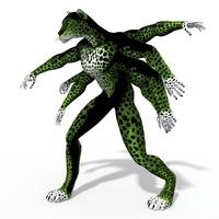 Fantasy Character  Isato 3D Model