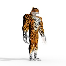 Fantasy Character  Isi-Agu 3D Model