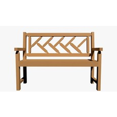 tahawus garden bench 3D Model