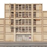 Industrial old fasade 3D Model
