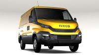 Iveco Daily L1H1 2017 3D Model