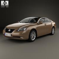 Lexus ES 2009 3D Model