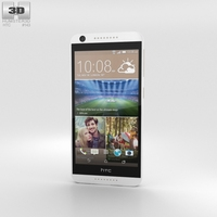 HTC Desire 626 White Birch 3D Model