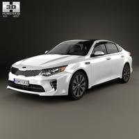 Kia Optima 2016 3D Model