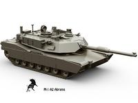 M-1 A2 Abrams 3D Model
