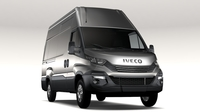 Iveco Daily L3H3 2017 3D Model
