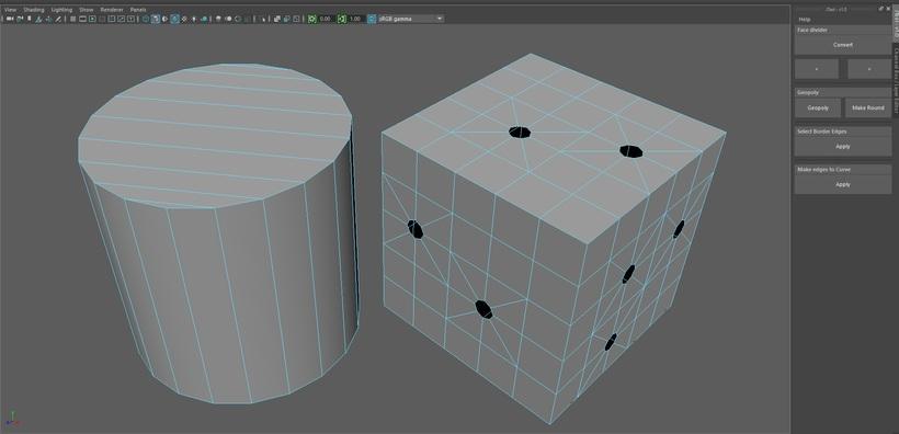 JTool - A Simple Modeling Tool for Maya