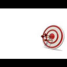 Arrow & Target 3D Model