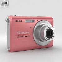 Casio Exilim EX-Z75 Pink 3D Model