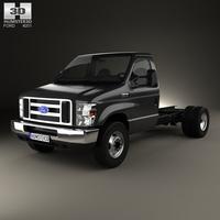 Ford E-450 Cutaway 2011 3D Model