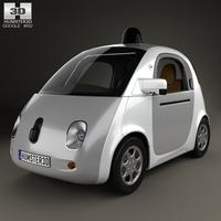 Google Self-Driving Car 2015 3D Model