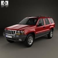 Jeep Grand Cherokee (WJ) 1998 3D Model